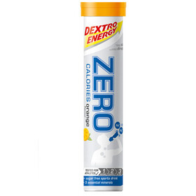Dextro Energy Zero Calories Electrolyte Tabs 20 Pieces, Orange